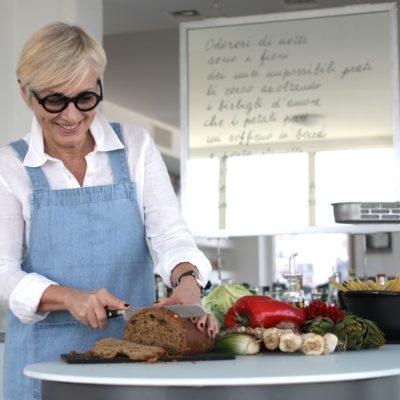 Carla Lertola cucina