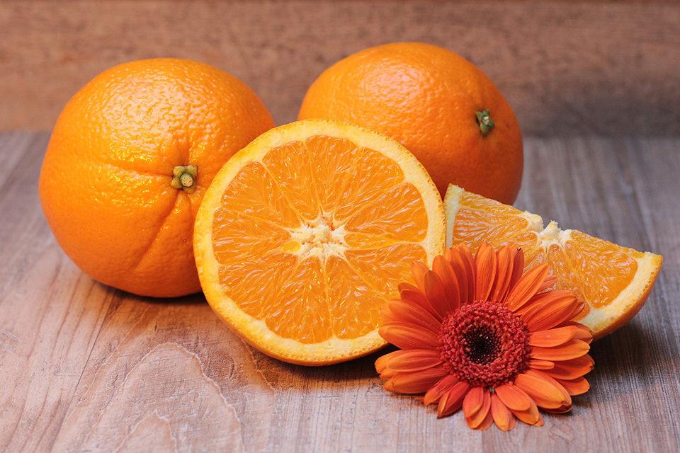 cibo sano arance